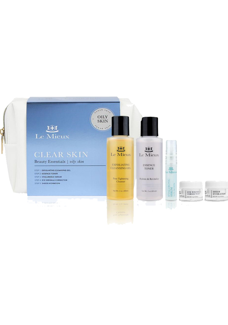 CLEAR SKIN BEAUTY ESSENTIALS